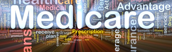 wordcloud illustration of medicare