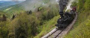 WV rails trip