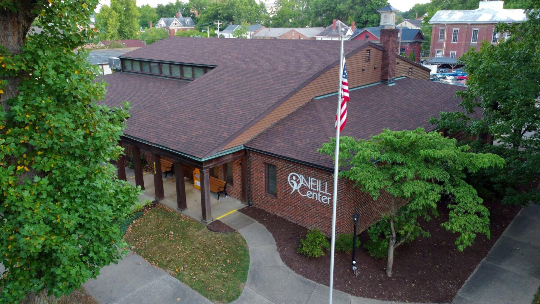 O'Neill Center Aerial View